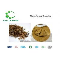 China Cas  4670 05 7 Plant Extract Powder Theaflavin Anti Inflammatory Absorb Heavy Metals wholesale