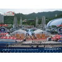 China 600 Person Capacity Transparent Marquee Tent For Movable Outdoor Temporary Event wholesale