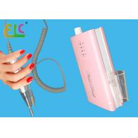 Buy cheap Portable Nail Polisher 36 Watt 0~30000 RPM 2600mAH Battery Pink Color with 6pcs from wholesalers