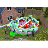 China Plato Pvc Inflatable Play Park / Indoor Amusement Park Double Stitching Inside on sale
