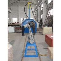 China Automate Traffic Garden Pole Shut and Welding Machine Hydraulic Control Clamp Pole Bottom Trolley Draft wholesale