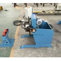 China Long Tube Welding Positioner With Movable Roller Stand Vertical Control Box wholesale