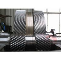 China Two Large Gear Open Die Forging Alloy Steel Cement Mill Grinding Machine Accessories wholesale