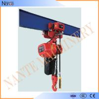 China Single Phase IP54 / IP55 3 Ton Electric Chain Hoist With Pendent Control wholesale
