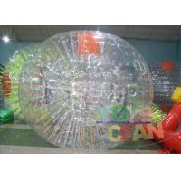 China Clear Human Inflatable Bumper Bubble Ball / Huge Full Body Bumper Balls wholesale