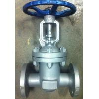 China GB Standard PN16 Flanged Ends Cast Steel Gate Valve For Oil Industry wholesale