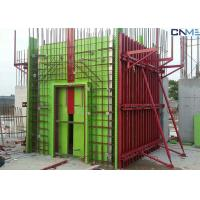 China Adjustable Wall Steel Formwork System Panel Strut , Flexible Concrete Formwork Secure wholesale