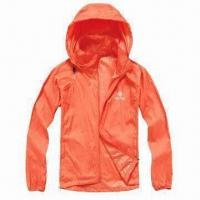 China Ladies' Windbreaker Jacket with Lightweight Feature wholesale