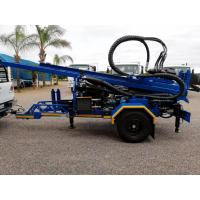 China 200M  Trailer Mounted Portable Well Drilling Rig With 89mm Drilling Pipes wholesale