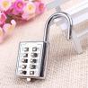 Buy cheap Mini push button Code zinc alloy Combination lock 10 pin Sports Locker from wholesalers