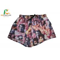 China Polyester Printed Men Board Shorts With Mesh Full Sublimation Custom Size wholesale
