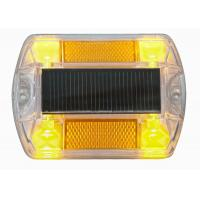 China IP68 Polycarbonate Solar Road Stud , Path Marine Deck Dock  Road Step Pathway LED Lights wholesale