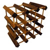 China Expandable Customizable Wine Rack on sale