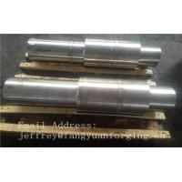 China Hot Forged Round Bar Rough Machined JIS DIN EN ASTM AISI Alloy Steel And Stainless Steel wholesale
