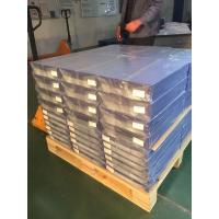 Buy cheap 0.1mm Overlay PVC Card Material Transparent Plastic Sheets With Glue Film from wholesalers