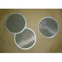 China Stainless Steel Bound Screen Packs For Filtration wholesale