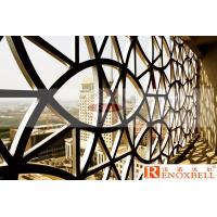 China Carved Shapes Perforated Aluminum Sheet Metal Customized PVDF Coating wholesale