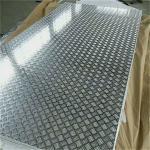 China 18 Gauge Chequred Polished Aluminum Sheet , 6061 Aluminum Checkered Sheet wholesale