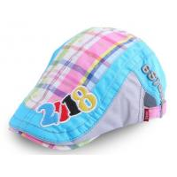 China Korean version of the spring and summer new children's sun hat clam stitching berets cap on sale