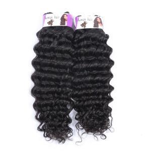Double Drawn Wholesale price 100% Peruvian hair bundles , Deep Wave Hair