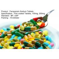 Wholesale Faropenem Sodium Tablets Film coated Tablets, 150mg, 200mg Oral Medications Antibiotics from china suppliers