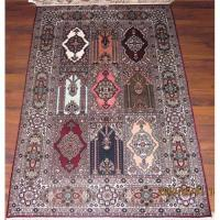China Palace design hand knotted rug on sale