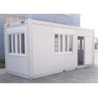 China Home Decoration Storage Container Houses With Steel Tube / Bending Plate wholesale