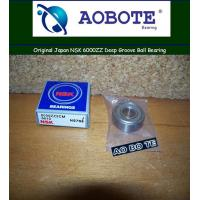 China High Speed NSK Ball Bearings 6000ZZ With Single Row ABEC 5 wholesale