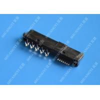 China 22 Pin Female SATA Data Connector SMT and Reverse Type 1.5A Current Rating wholesale