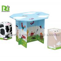 China Offset 4 Color Corrugated Cardboard Toys With Foldable Seats And Tables wholesale