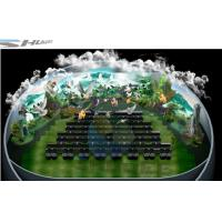 China 4D theater with ball screen, arc screen installed arc screen or ball screen wholesale