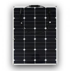 China PET flexible solar panel 60 Watt flexible solar panel 12v RV Flexible Solar Panels wholesale