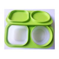 China Soft Feeling Silicone Lunch Containers Box Lightweight 3000 Times' Using Lifelong wholesale