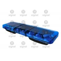China Super Thin Blue Police Light Bars High Brightness Low Power Consumption Long Working Life wholesale
