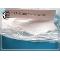 China Raw Injectable Anabolic Steroids 17-Methyltestosterone Powders Cycle 58-18-4 wholesale