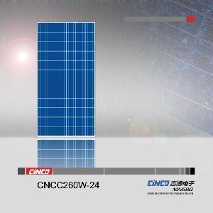 China 260W Solar Panel Poly (CNCC260W-24) wholesale