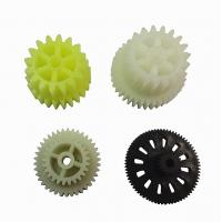 China Pom Spur Precision Plastic Gears Straight Tooth Gear Injection Plastic Modling Type wholesale