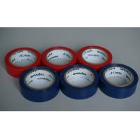China Shiny And Fire Retardant PVC Electrical Tape Blue / Red For Wires And Cables wholesale