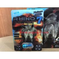 Wholesale 3D Rhino7 Platinum 5000mg Male Enhancement Pill Fast Acting Sex Pill from china suppliers