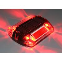 China Polycarbonate Solar Led Road Stud Reflective Lens IP68 Water Proof  850 Yards Visible wholesale
