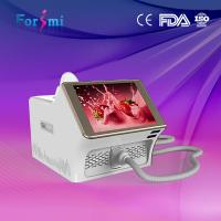 China portable wavelength 808nm diode laser hair removal machine15inch capacitive screen 1-10Hz frequency wholesale