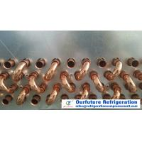 China Water Flushing Defrost Type Unit Cooler Evaporator , Copper Tube Aluminum Fin Evaporators wholesale