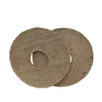 China 14 inches Oil Sisal Buff - Hexagonal-hole - buffing wheels - polishing wheels wholesale