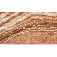 China Custom Patterned PET Marble Adhesive Paper Decorative Films For Windows wholesale