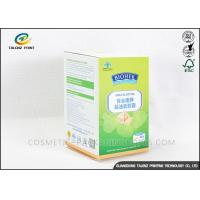 China OEM Paper Medicine Packaging Box Easy Assembled For Pill Bottles Packing wholesale