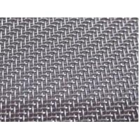 Buy cheap 100mesh to 500mesh Stainless Steel Twill Woven Wire Mesh/Fabric, AISI 304L, 316L from wholesalers