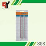China Distribution Transparent Breadboard Solderless 16.5x0.95x0.85 cm wholesale