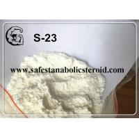 China SARMs White Powder S-23 for Increasing Muscle Mass with High Quality wholesale