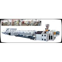 China PE / PPR / PP / PVC Pipe Extrusion Machine Single Screw Extruder wholesale