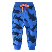 China Customized Color Soft kids Clothes Comfortable Cotton  Garment boys pants wholesale